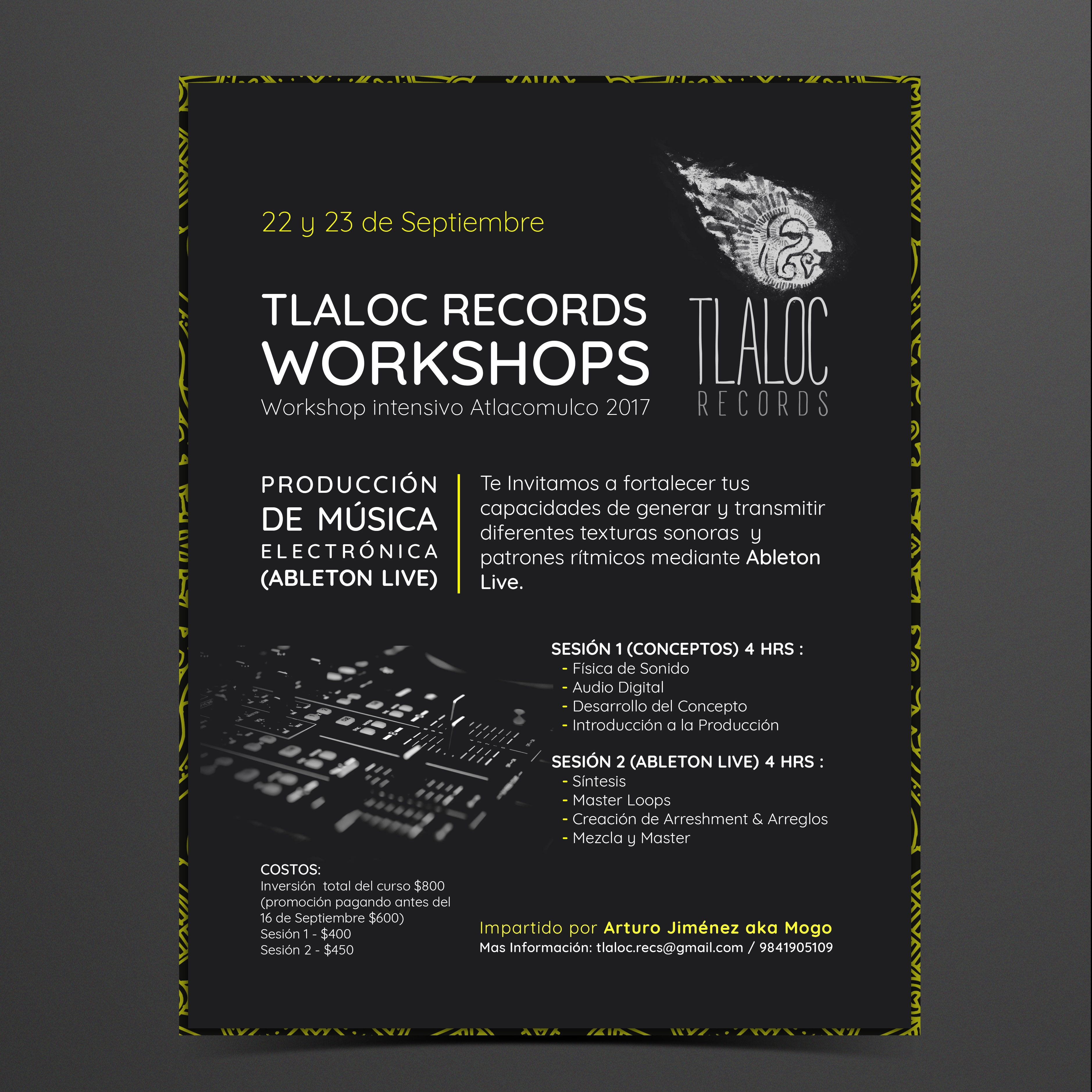Tlaloc Records Workshop Banners